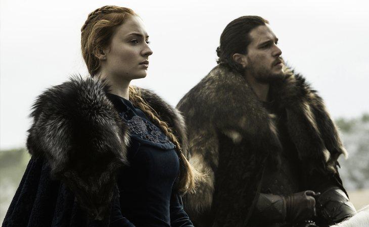 Sansa Stark y Jon Snow recuperan Invernalia tras la Batalla de los Bastardos en la sexta temporada de 'Juego de tronos'