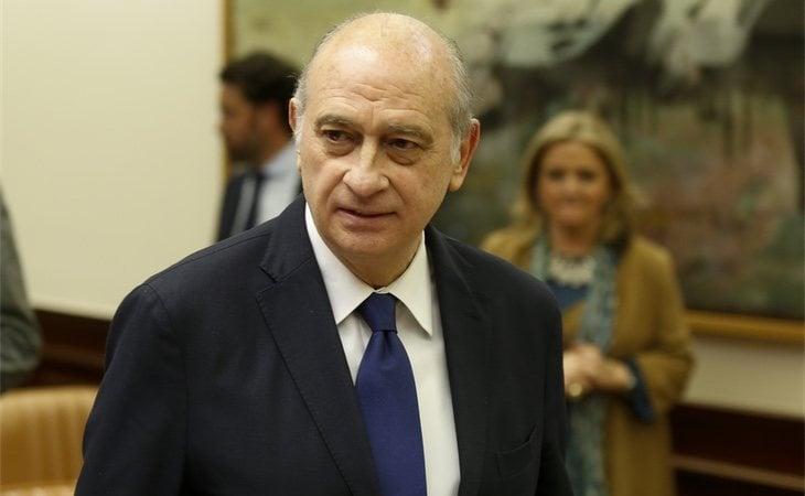 Jorge Fernández Díaz, ministro de Interior durante el Gobierno de Mariano Rajoy
