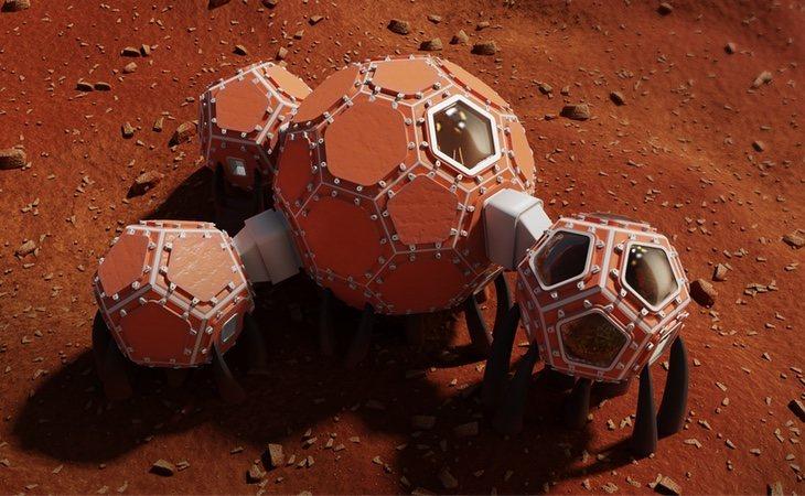 Proyecto de los terceros finalistas, equipo Mars Incubator | NASA