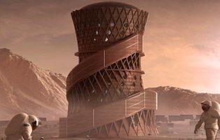 La NASA muestra los diseños para las futuras viviendas de Marte