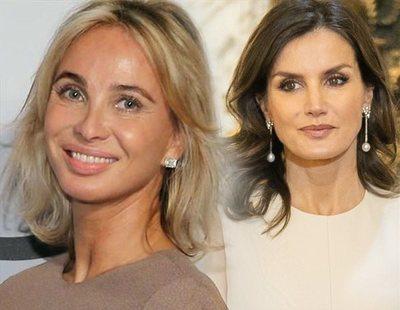 Corinna, examante del rey Juan Carlos, intenta un acercamiento con la reina Letizia