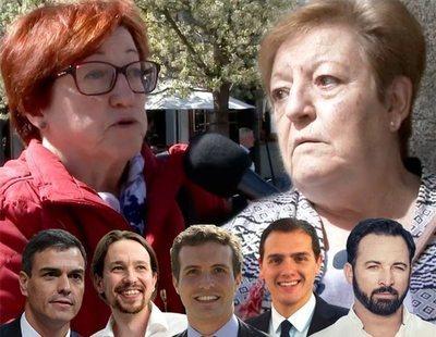 'Señoras que opinan... y ponen nota a los líderes políticos': suspensos y aprobados