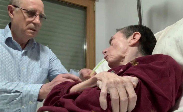 El marido de María José ha sido detenido por ayudarla a descansar en paz
