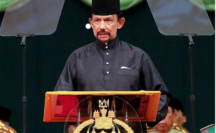 Muda Hassanal Bolkiah es el sultán de Brunéi