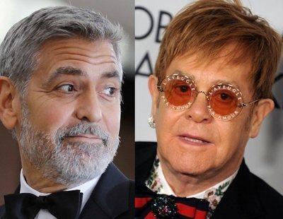 George Clooney y Elton John piden boicot contra Brunéi por imponer la pena de muerte a los gays