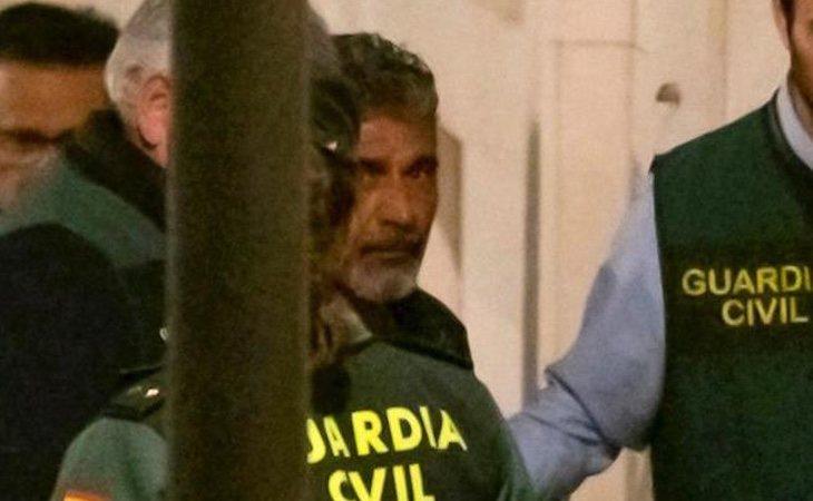 Bernardo Montoya durante su detención
