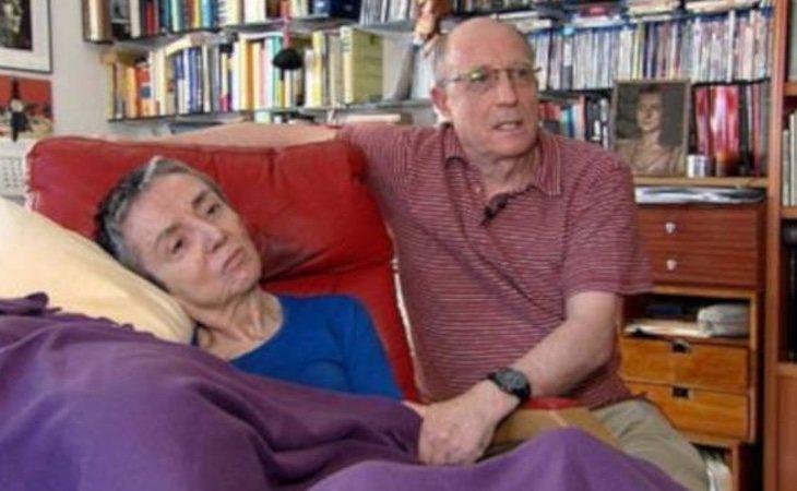 Ángel Hernández se encuentra imputado por haber ayudado a su mujer a morir