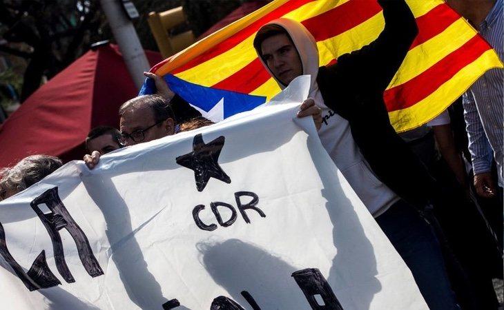 La organización asegura que participa en los actos violentos de los CDR