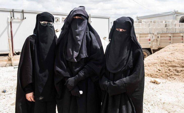 Así encontró El País a las tres yihadistas españolas en Siria