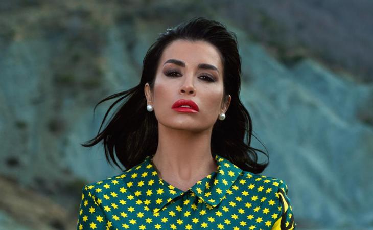Jonida Maliqi es una figura muy mediática en Albania