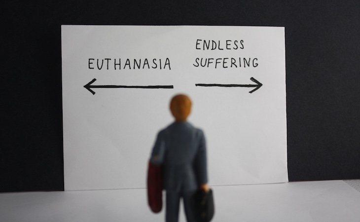 La eutanasia es legal en Bélgica, Holanda, Suecia y Finlandia