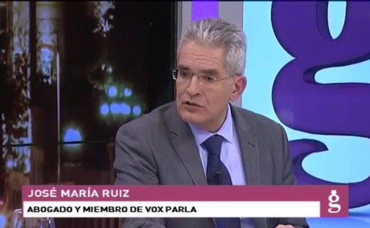 José María Ruiz Puerta acude a debates en Intereconomía para representar a VOX