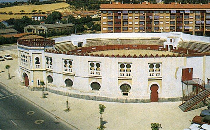 La plaza de toros de Estella se inauguró en 1917