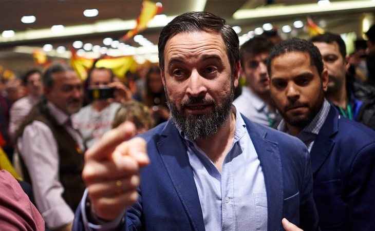 Santiago Abascal propone derogar el delito de incitación al odio