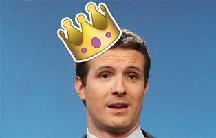 """Pablo Casado se viene arriba: """"¡Viva el rey que todos hemos votado!"""""""