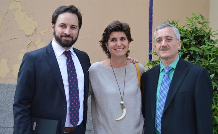 María San Gil se acercó a VOX durante su fundación en plena era de Mariano Rajoy