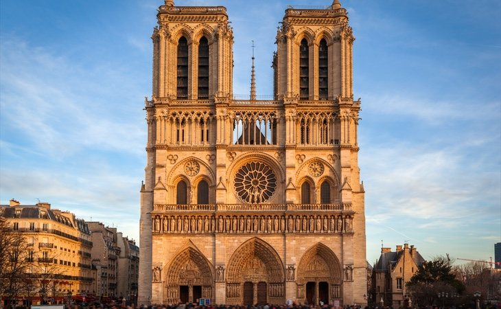 La mítica fachada de las dos torres ha permanecido intacta