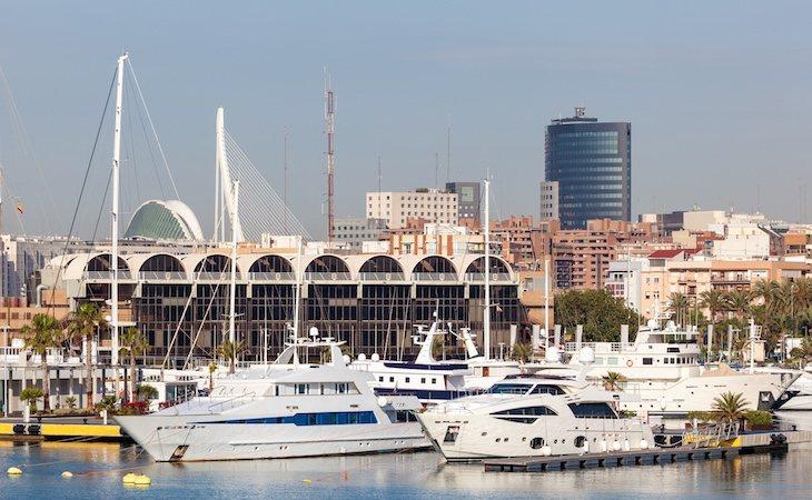 El crucero llegó al puerto de Valencia