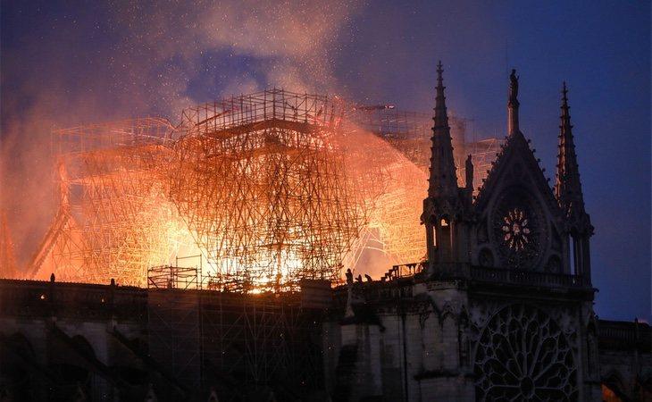 La catedral de Notre Dame ardió durante 14 horas