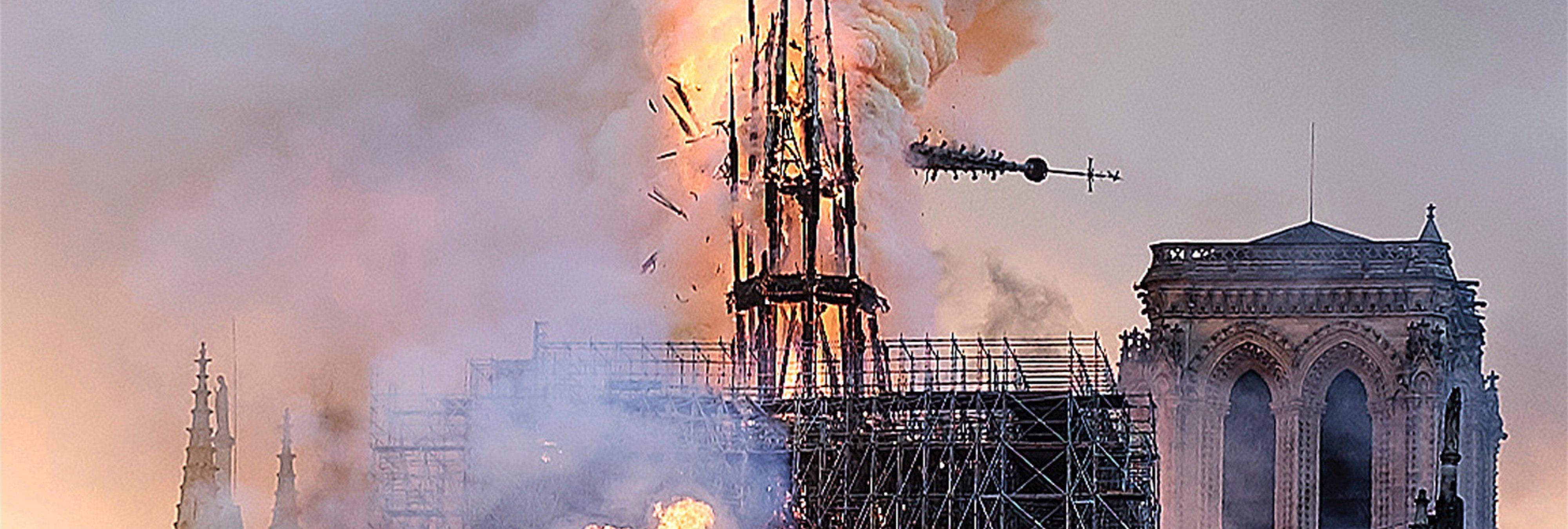 La falsa teoría que afirma que Nostradamus ya predijo el incendio de Notre Dame en sus escritos