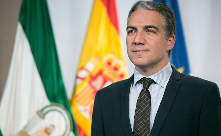 Elías Bendodo es el cosejero de la Presidencia de Andalucía