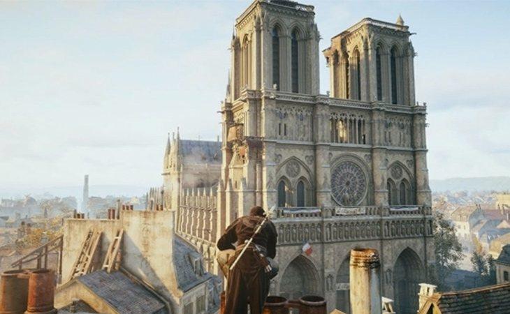 La realista catedral de Notre Dame de 'Assassin's Creed Unity' podría ser útil para la restauración