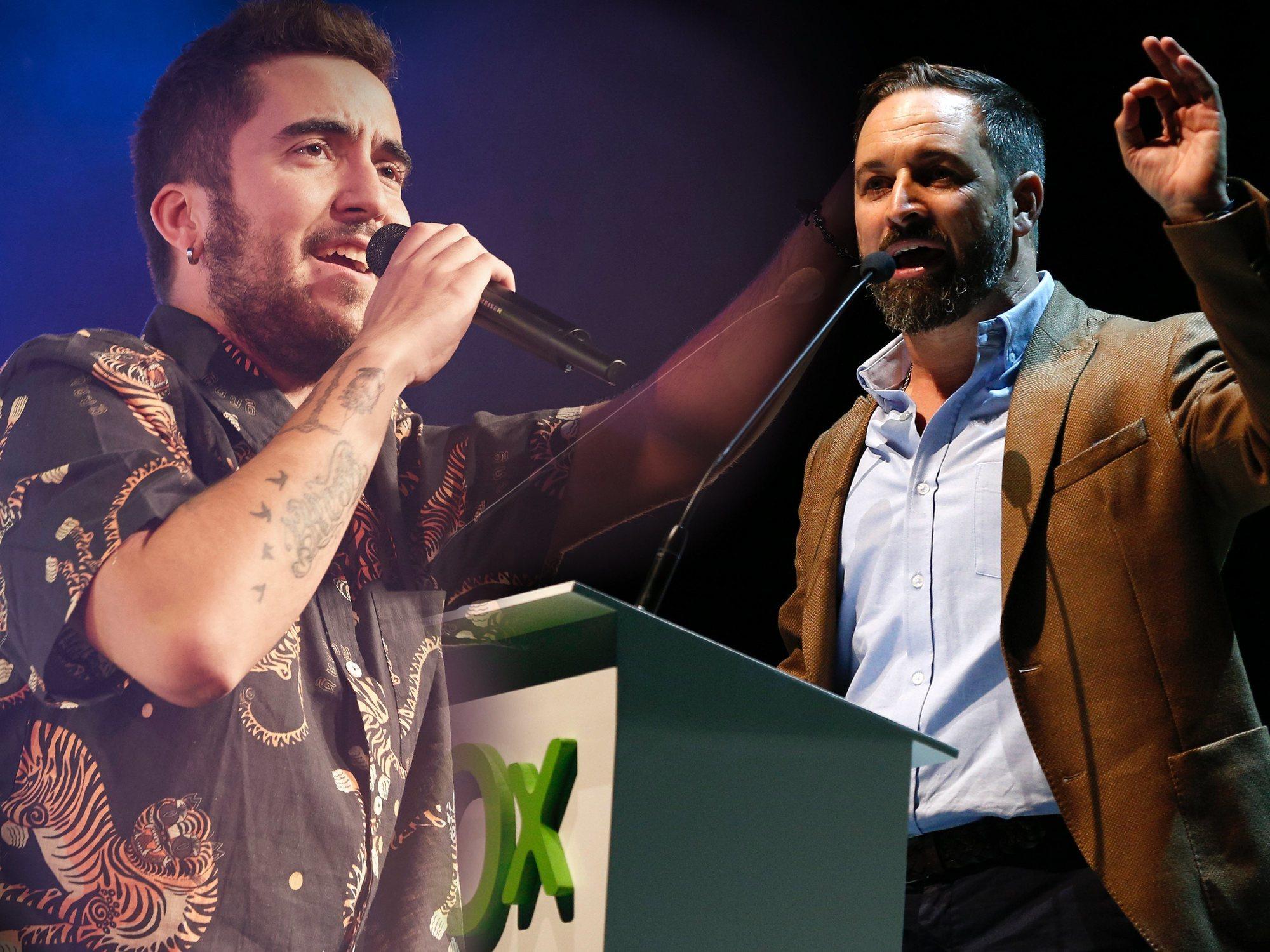 Beret denuncia que VOX utiliza una canción suya sin su consentimiento para hacer campaña