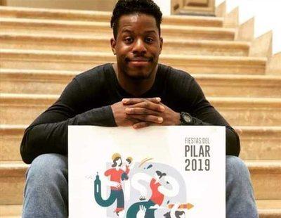 Ataques racistas al creador del cartel de las Fiestas del Pilar de Zaragoza 2019