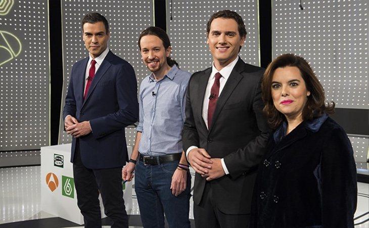 Sánchez ya había criticado la ausencia de Mariano Rajoy en el debate del 7-D en Atresmedia