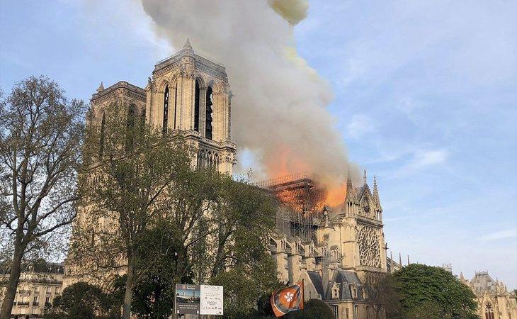 Los terroristas aseguran que lo sucedido en Notre Dame es