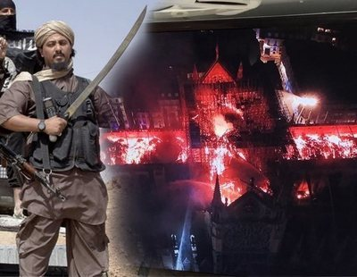 """El Daesh celebra el incendio de Notre Dame como """"un buen presagio"""" y """"castigo de Alá"""""""