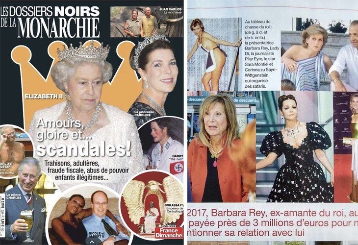 La revista francesa revela algunos de los nombres de las presuntas amantes del Rey Juan Carlos