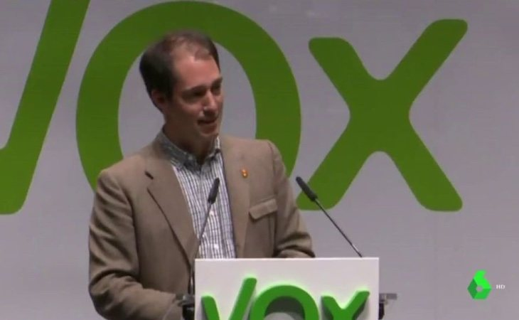 El vicepresidente de VOX, Víctor González Coello, anunció que quería cerrar La Sexta