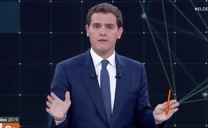 Albert Rivera, en el bloque de Política Social, habla del Falcon y de Cataluña