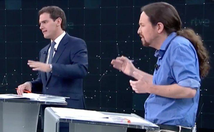 ¡SE ENZARZAN! Pablo Iglesias subraya la poca credibilidad de Albert Rivera y este recuerda el chalet