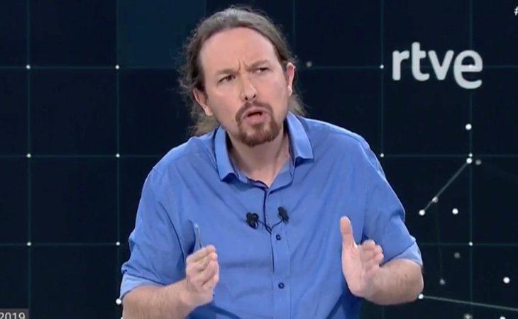 Pablo Iglesias, de Unidas Podemos, el único que se acuerda de la España rural