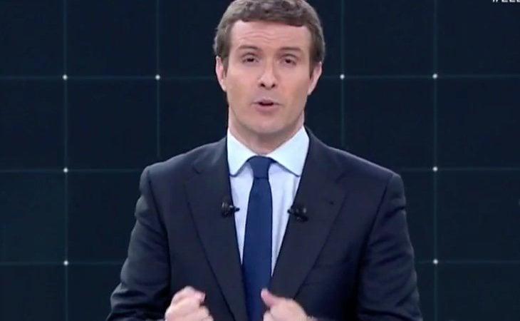 Pablo Casado pide el voto por el PP