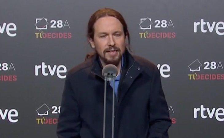 Pablo Iglesia agradece la oportunidad del debate y lanza un dardo a Sánchez por un posible pacto con Cs