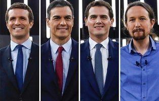 El Debate a cuatro de RTVE: carrera a las elecciones generales del 28A