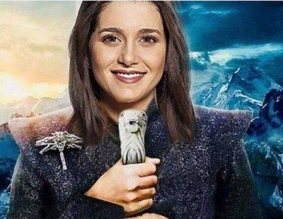Arrimadas se cree la Khaleesi pero HBO denuncia que usen la imagen de 'Juego de tronos'
