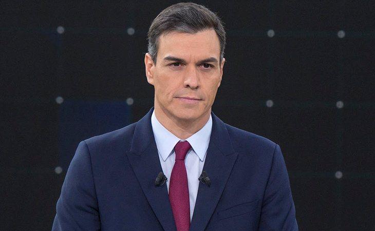 Pedro Sánchez, candidato a la presidencia del PSOE, en el Debate de RTVE