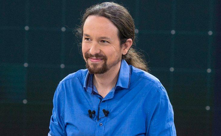 Pablo Iglesias, candidato a la presidencia de Unidas Podemos, en el Debate de RTVE