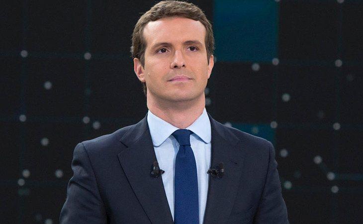 Pablo Casado, candidato a la presidencia del PP, en el Debate de RTVE