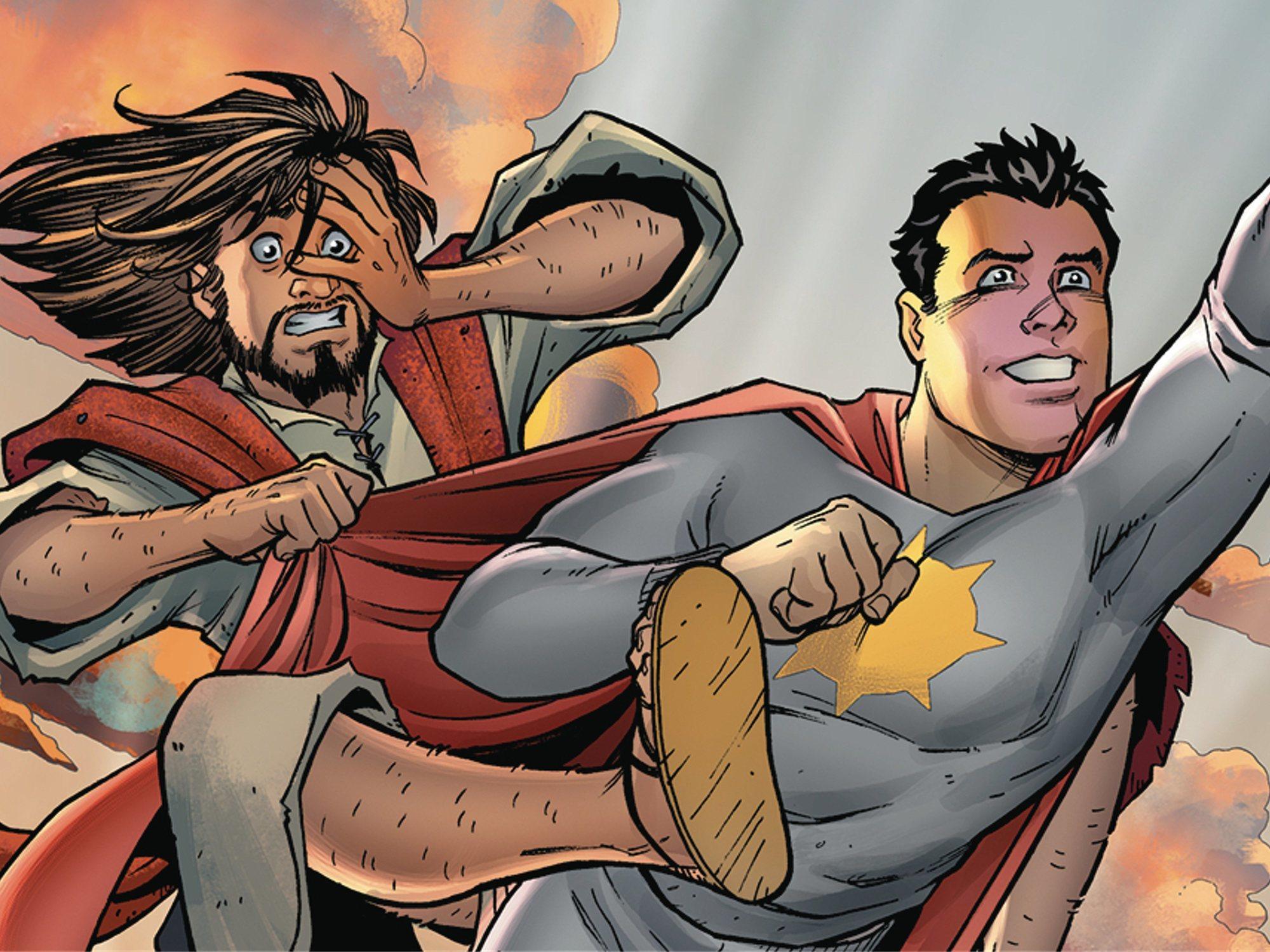 Radicales católicos consiguen que DC cancele un cómic sobre la segunda venida de Cristo