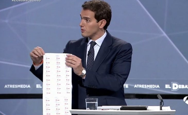 Rivera intentó repetir la espontaneidad del anterior debate, aunque en esta ocasión 'se pasó de frenada'