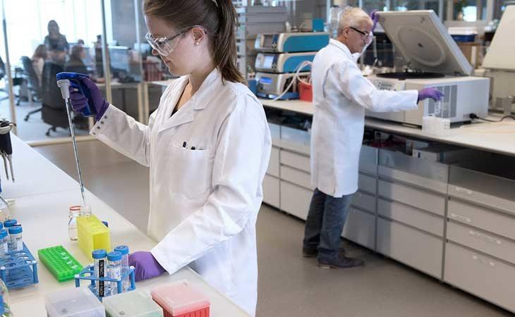 Uno de los laboratorios de Novastis