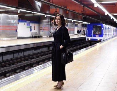 """Díaz Ayuso justifica el bloqueo del Metro por Madrid Central: """"Que paguen ellos la fiesta"""""""