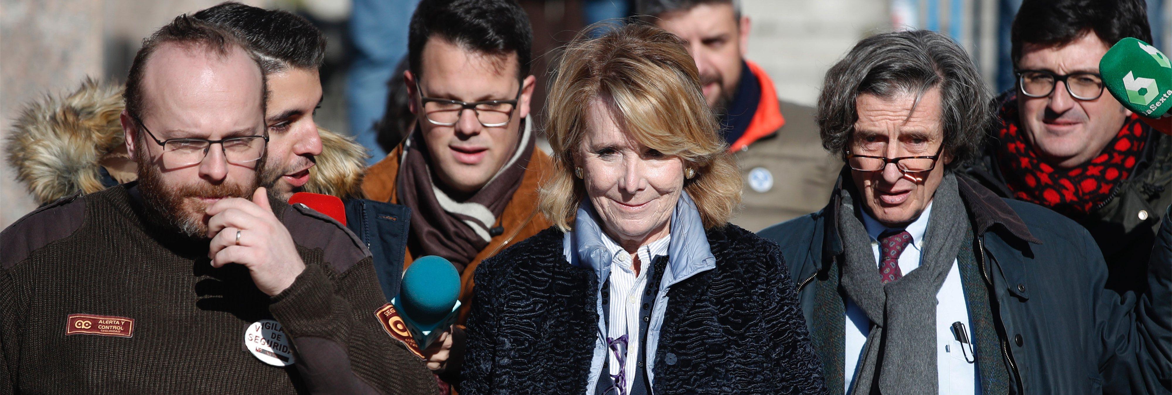La Guardia Civil implica directamente a Aguirre por primera vez en la corrupción del PP