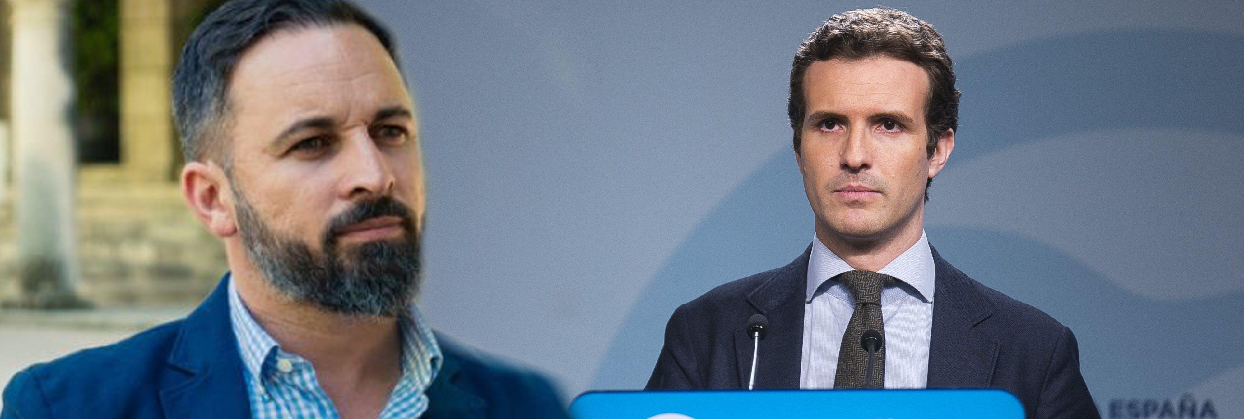 Pablo Casado anuncia que cederá ministerios a VOX si llega a La Moncloa
