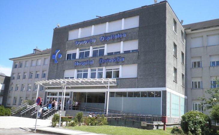 El menor se encuentra ingresado en el Hospital de Donostia